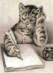 Writing Kitty
