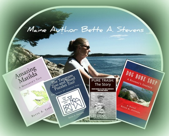 Bette & 4 Books 2014 Green Vignette