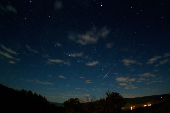 Photo Credit: Perseid Meteor Shower NASA 2010
