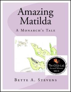 AMAZING MATILDA Cover GITTLE AWARD