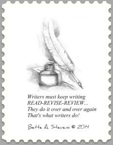 Writers Write Postage Stamp