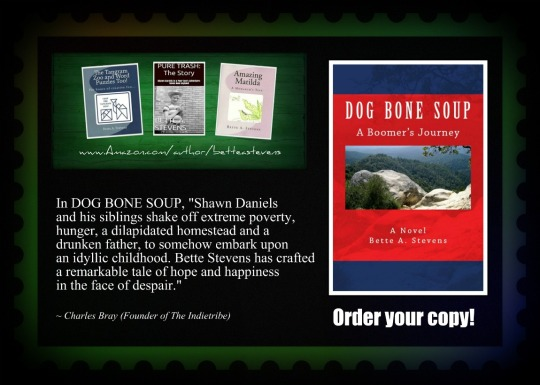 DOG BONE SOUP Green&Blue