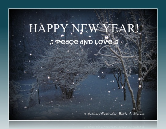 HAPPY NEW YEAR Peace & Love