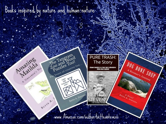 Inspired by nature & human nature bas books