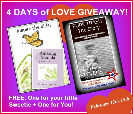 AM&PT 4 days of LOVE FREE Books