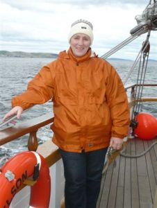 MARGARET at sea