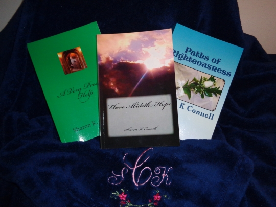 SHARON K Connell BOOKS cropped