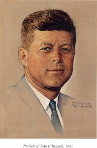 JFK by Norman Rockwell