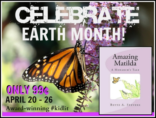 AM EARTH MONTH 2 promo 99¢ Apr 20-26
