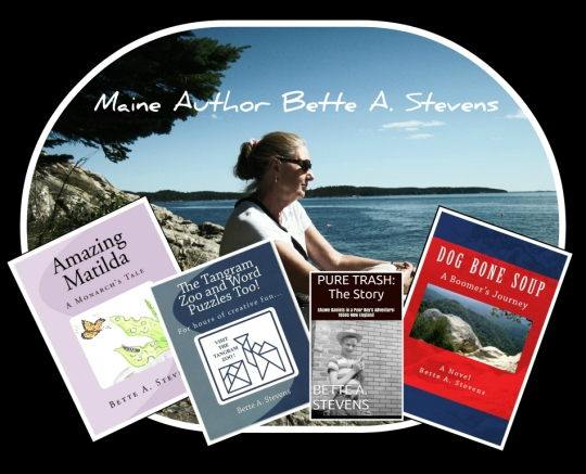 Bette A. Stevens, Maine author/illustrator