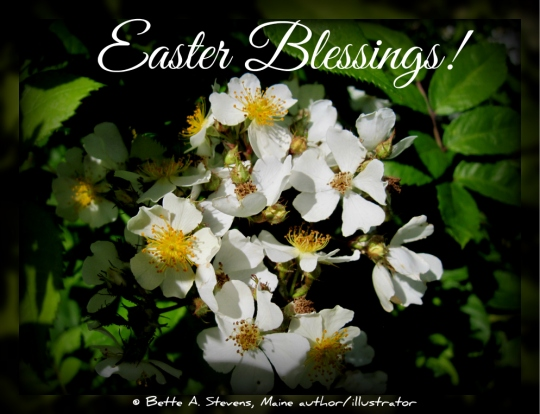 Easter Blessings (Poster, p\Poem & Scripture
